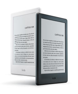 Kindle 8 geração por R$189,00 ou Paperwhite por R$349,00