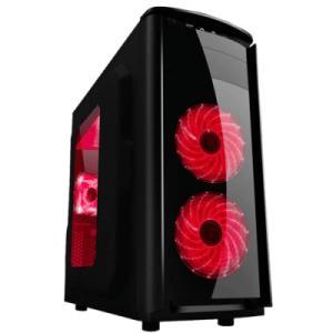 Gabinete PIXXO Gamer c/janela CGS166 Preto S/ Fonte - R$112