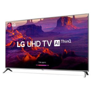 """Smart TV LED 50"""" Ultra HD 4K LG 50UK6520PSA com ThinQ AI, WI-FI, Processador Quad Core, HDR 10 Pro, HDMI e USB - R$2249"""