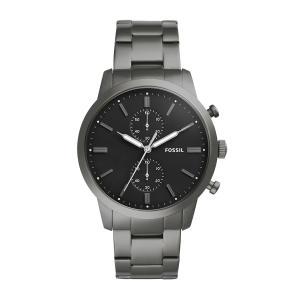 Relógio Fossil Townsman Masculino Cinza Analógico FS5349/4PN - R$423