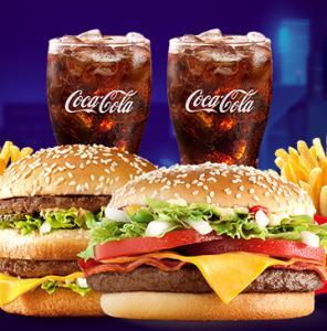 McDonald's Passa no Drive - McOferta Média McNífico Bacon + McOferta Média Big Mac - R$35,50