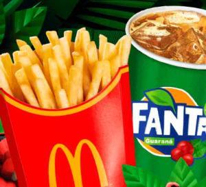 McFritas Grande + Fanta Guaraná no McDonald's - R$5,50