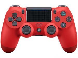 Controle Dualshock 4 PS4 CUH-ZCT2U - Vermelho - R$ 198