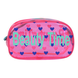 Necessaire Drezzup Beauty Time Feminina - Pink e Azul | R$8