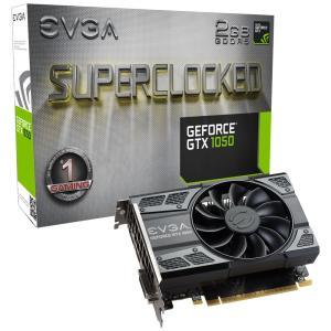 Placa de Vídeo VGA EVGA NVIDIA GeForce GTX 1050 2GB SC ACX GDDR5 02G-P4-6152-KR