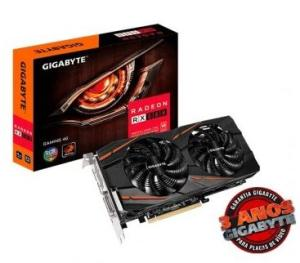 Placa de vídeo Gigabyte Radeon RX 580 Gaming 4GB GDDR5 - R$ 1100