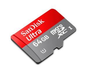Cartão de Memória Micro SD Android 64GB