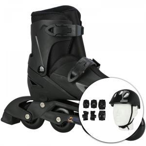 Kit Patins Spin Roller com acessórios de proteção | R$207
