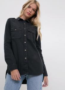 Camisa Slim em Jeans c/ Bolso - Youcom R$80