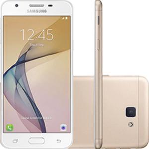 "Smartphone Samsung Galaxy J5 Prime Dual Chip Android 6.0 Tela 5"" Quad-Core 1.4 GHz 32GB por R$ 585"