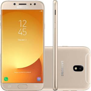 "Smartphone Samsung Galaxy J7 Pro Android 7.0 Tela 5.5"" Octa-Core 64GB por R$ 9945"