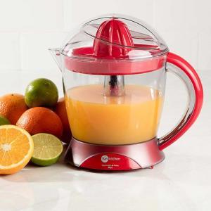 Espremedor de Frutas Max Vermelho ou preto Fun Kitchen - R$30