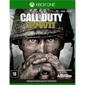 [Cartão Submarino] Game - Call Of Duty WWII - Xbox One - R$70