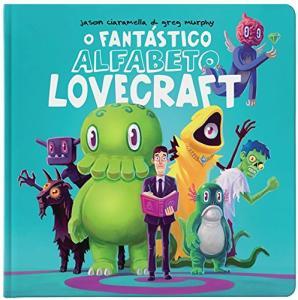 Livro | O Fantástico Alfabeto Lovecraft (capa dura) - R$17