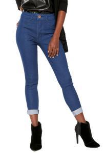 Calça Jeans Biotipo Skinny Melissa - Azul | R$60