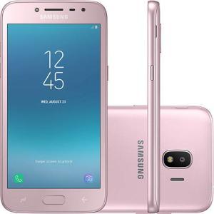 "Smartphone Samsung Galaxy J2 Pro Dual Chip Android 7.1 Tela 5"" Quad-Core 1.4GHz 16GB 4G por R$ 441"