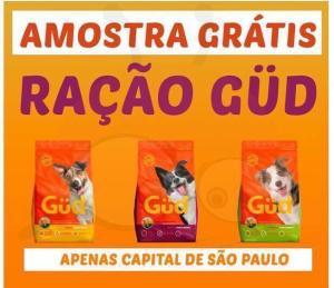 Amostra Grátis Ração GUD (Apenas Capital de São Paulo)