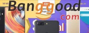 Cupons p/ celulares na Banggood