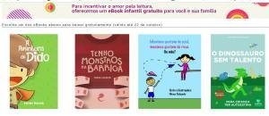Ebook Grátis - Mês das crianças Kindle