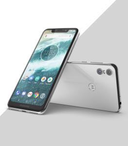 """Motorola One XT1941 Preto 64GB Tela de 5,9"""", Dual Chip, Android 8.1, Câmera Traseira Dupla, Processador Octa-Core e 4GB de RAM R$1.423"""