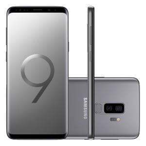 Smartphone Samsung Galaxy S9+ 128GB 4G Tela 6.2 Câmera 12MP Android 8.0 | R$2.999