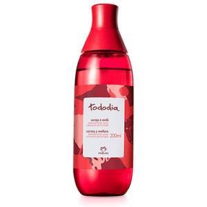 Desodorante Colônia Spray Corporal Perfumado Cereja e Avelã Tododia - 200ml   R$20