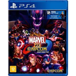 Marvel Vs Capcom: Infinite - Edição Limitada - PS4 R$50