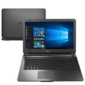 """Notebook Compaq Presario CQ31 Intel Celeron 4GB 500GB Tela 14"""" Windows 10 - Grafite R$989"""