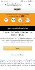 3 Meses Kindle Unlimited por 1.99