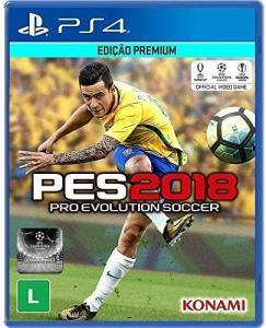 PES 2018 - PlayStation 4 - R$29,90