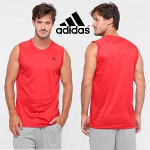Regata ADIDAS Essential Plain Lightweight Masculina - Vermelho
