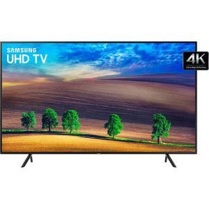 """Smart TV LED 55"""" Samsung 4K/Ultra HD 55NU7100 3 HDMI 2 USB - R$ 2864"""