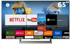 "Smart TV LED 65"" UHD 4K Sony BRAVIA XBR-65X905E com Android"