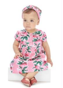 Vestido Infantil Rosa Hello Kitty R$25