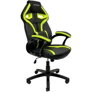 Cadeira Gamer Mymax Mx1 Giratória - Preta/Verde | R$600