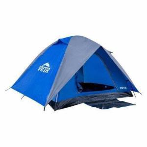 Barraca para Camping c/ Sobreteto Iglu 6 pessoas VNTR + bolsa para transporte R$180