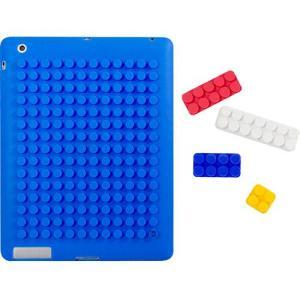 Capa para iPad Bloquinhos Uatt - Azul | R$25