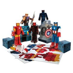 Playset para Montar - Avengers - 30 Peças - Blueprints - Disney - R$40