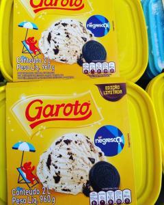[Supermercado Guanabara - RJ] Pote Sorvete Garoto Negresco 2L R$9