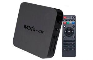 TV Box Android 6.0 4k Wi-Fi - Aplicativos Netflix e Youtube R$118