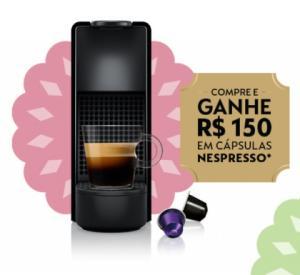 Compre máquinas Nespresso e ganhe R$150 OFF em capsulas Nespresso