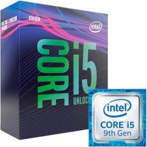 Intel Core i5 9600k 9a Geração 3.7GHz (4.6GHz Turbo) - R$1300