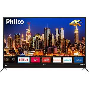 "Smart TV LED 55"" Philco PTV55G50SN Ultra HD 4k 3 HDMI 2 USB | R$2.400"