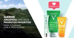 [RJ] Amostra grátis Vichy - Kit 3 amostras Vichy para pele oleosa e com acne