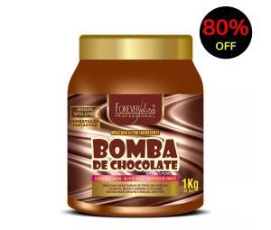 Máscara capilar Bomba de chocolate Foreverliss - R$19