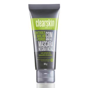 Máscara Negra Facial com minerais Clearskin 60G - R$ 9,29