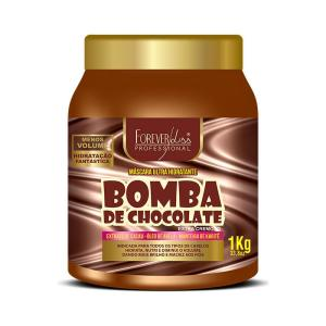 Máscara Bomba de Chocolate Forever Liss 1kg R$ 17,91