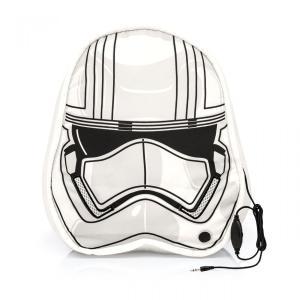 Almofada speaker star wars stormtrooper funciona como fone de ouvidos - R$90