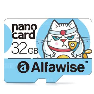 Cartão de memória Alfawise 32GB Micro SD Class 10 UHS-1 - R$14