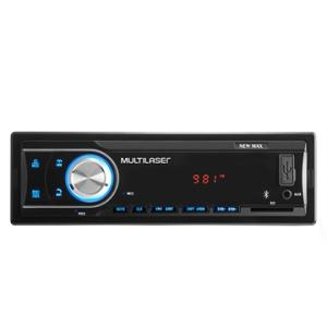 Som Automotivo Multilaser P3326 New Max Entrada USB, Auxiliar e SD Card, Bluetooth e Rádio FM | R$85